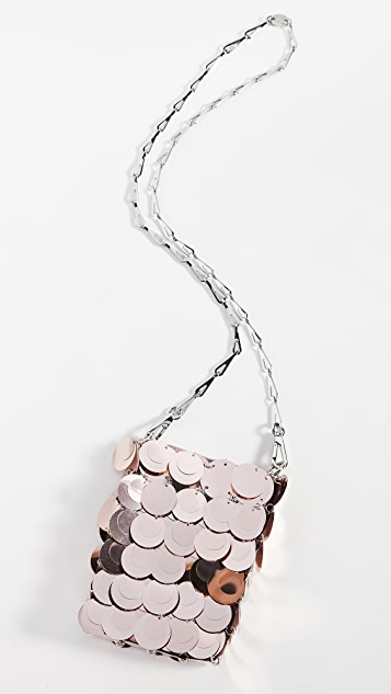 Paco Rabanne Блестящая миниатюрная сумка 1969