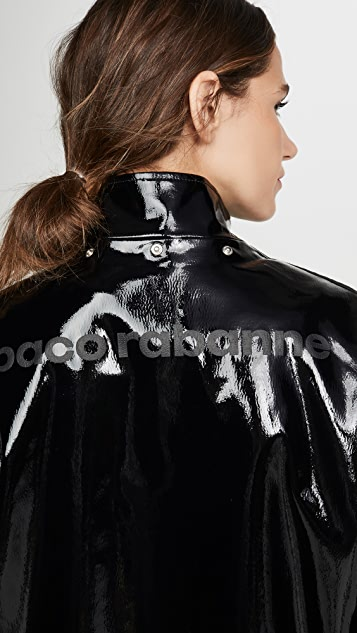 Paco Rabanne Vinyl Coat