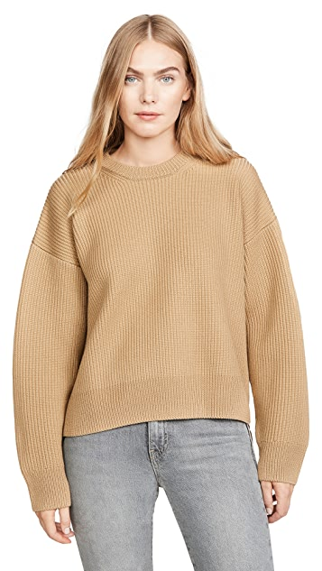 Paco Rabanne Ribbed Side Zip Sweater