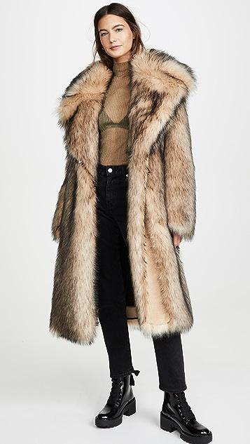 Paco Rabanne Coats Fur Coat