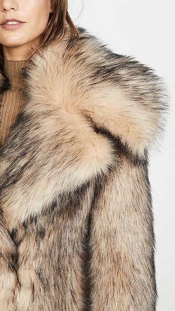 Paco Rabanne Fur Coat