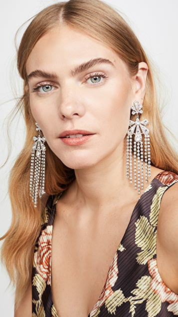 Paco Rabanne Small Palm Pendant Earrings