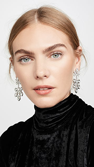 Paco Rabanne Palm Leaf Earrings