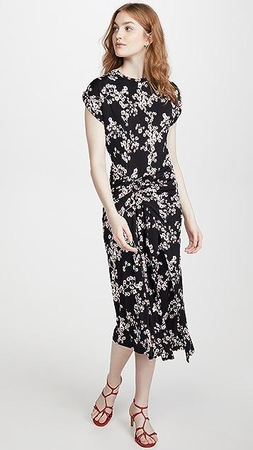 Paco Rabanne 花朵连衣裙