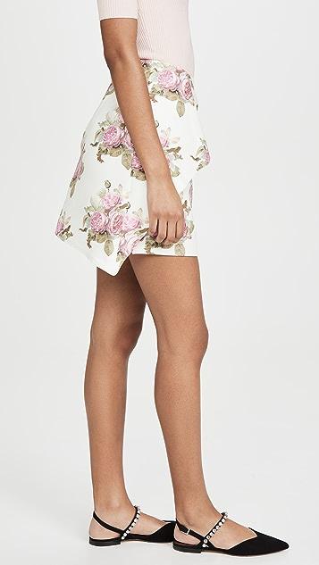 Paco Rabanne Printed Skirt