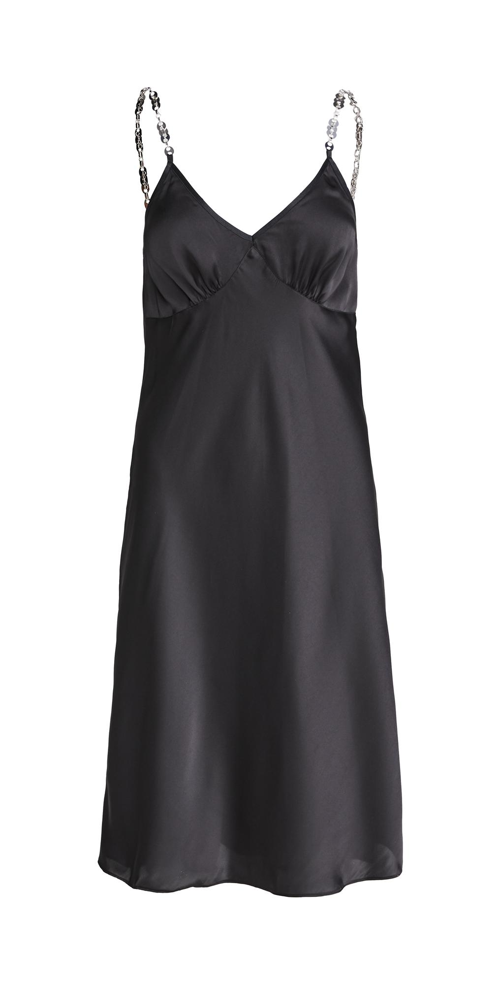 Paco Rabanne Satin Slip Dress