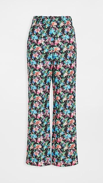 Paco Rabanne 花卉长裤