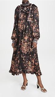Paco Rabanne 灯笼袖连衣裙