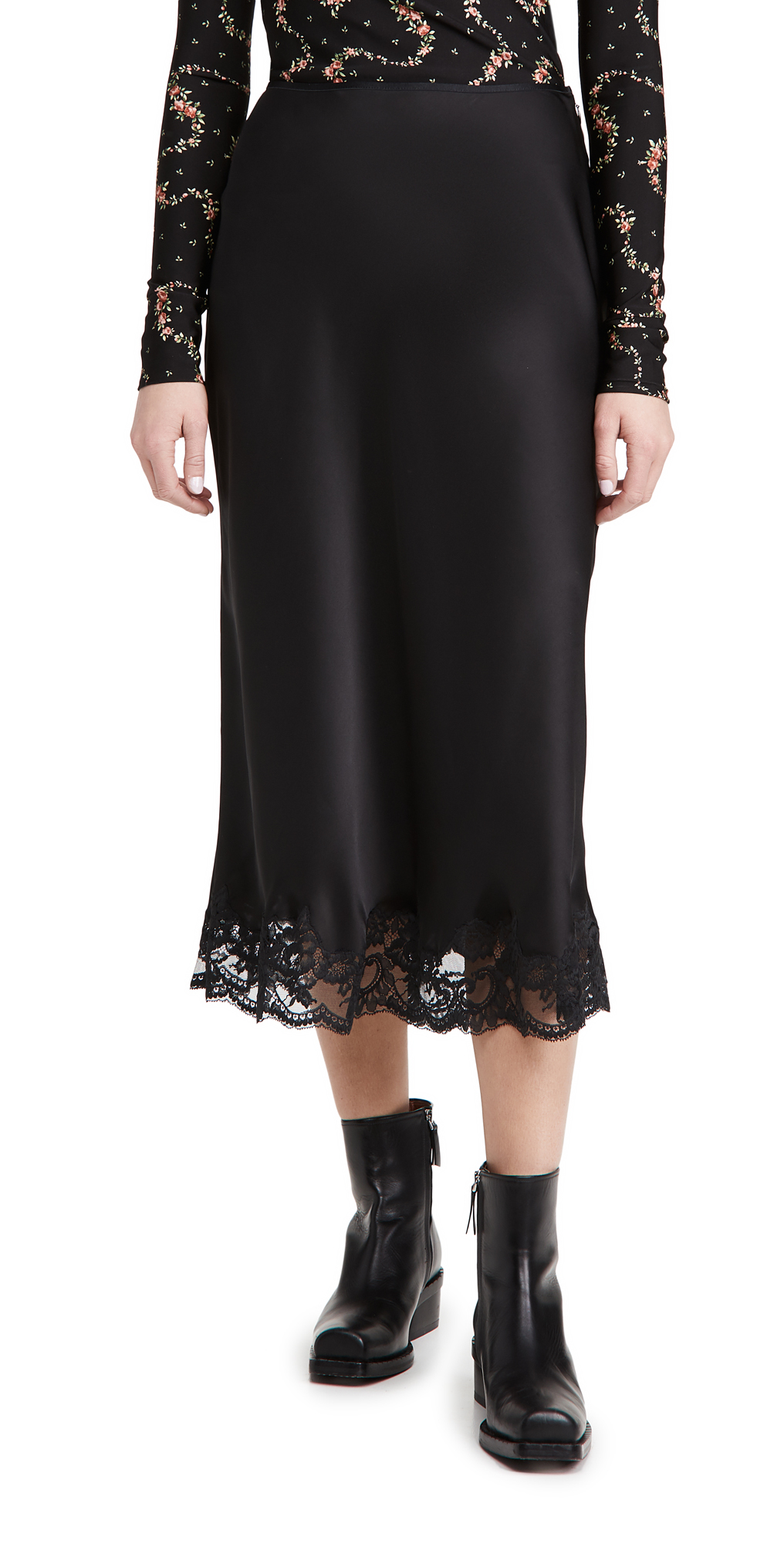 Paco Rabanne Silk Skirt