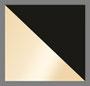 Light Gold/Black