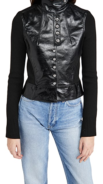 Paco Rabanne Buttoned Jacket