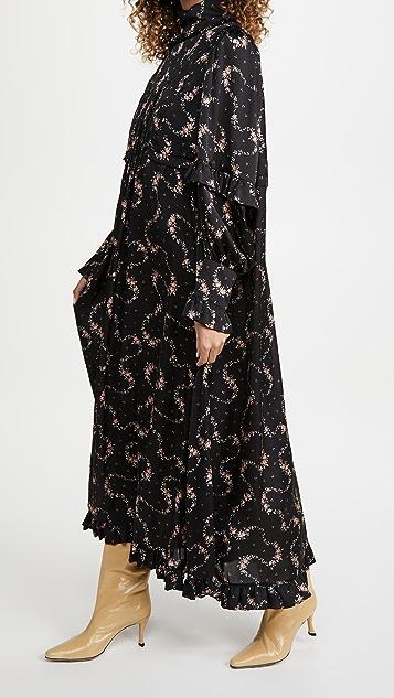 Paco Rabanne Cape Dress
