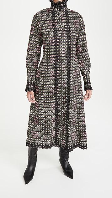 Paco Rabanne 图案设计连衣裙