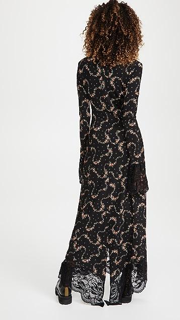 Paco Rabanne Long Sleeve Dress