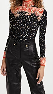 Paco Rabanne Second Skin Long Sleeve Top