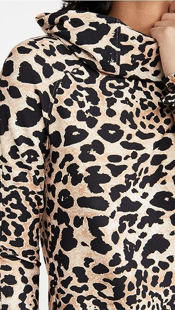Paco Rabanne 豹纹运动衫