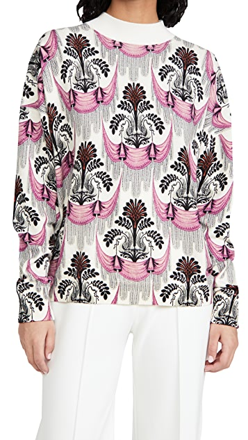Paco Rabanne Patterned Wool Pullover