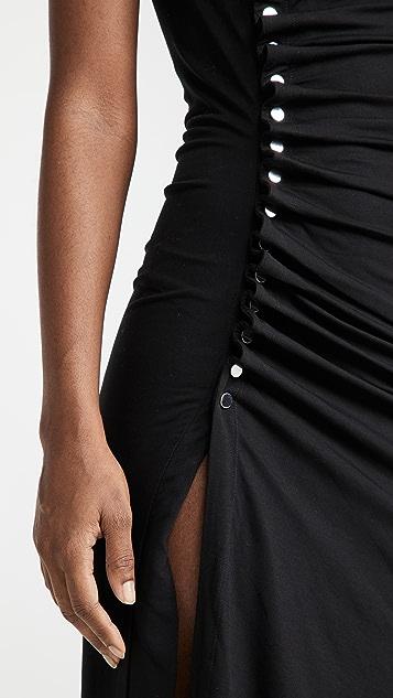 Paco Rabanne Draped Jersey Dress