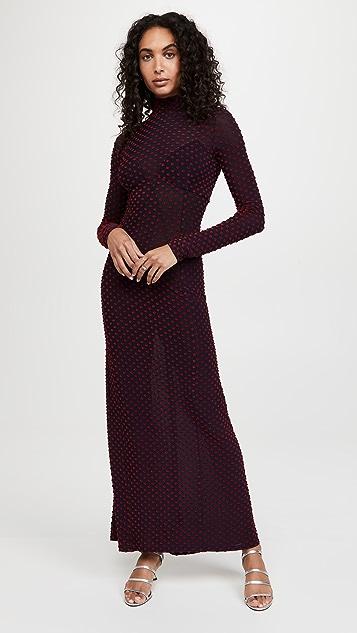 Paco Rabanne Polka Dot Dress