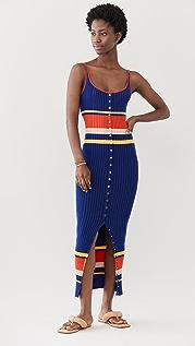 Paco Rabanne Tennis Stripes 70'S Dress