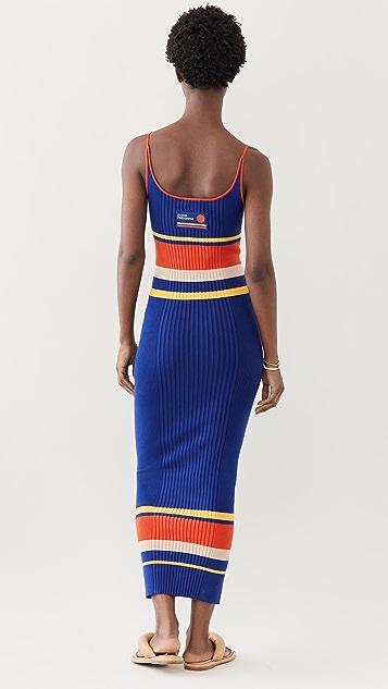 Paco Rabanne Tennis Stripes 70'S 连衣裙