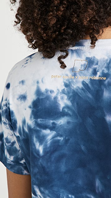 Paco Rabanne 棉蜡染 T 恤