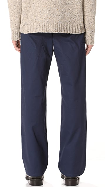 Patrik Ervell Cotton Twill Work Pants