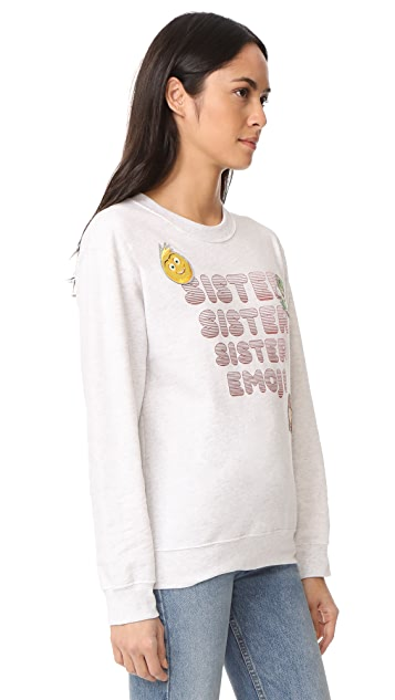 Paul & Joe Sister x Emoji Movie Iconic Sweatshirt