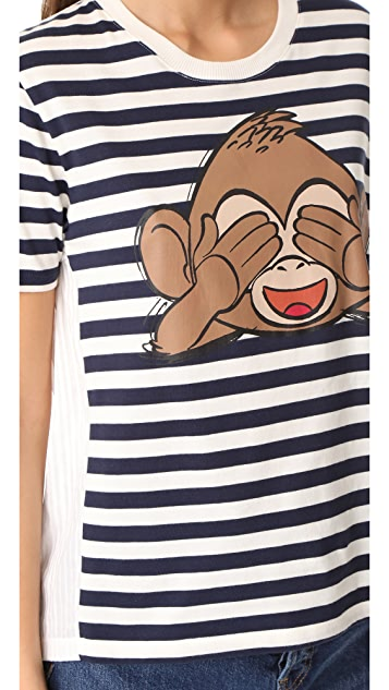 Paul & Joe Sister x Emoji Movie Monkey T-Shirt