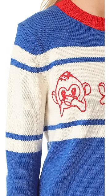 Paul & Joe Sister Emoji Sweater