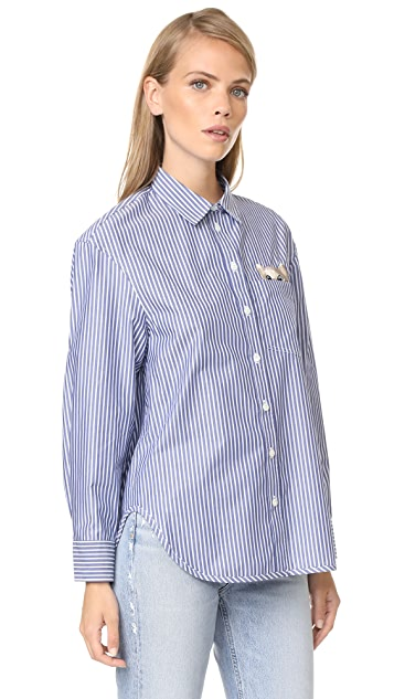 Paul & Joe Sister Galipette Button Down Shirt