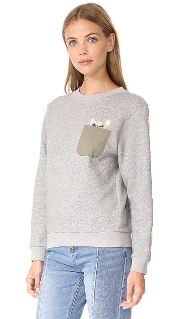 Paul & Joe Sister Sweetcat Sweatshirt