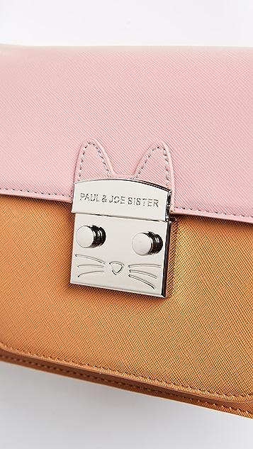 Paul & Joe Sister Mini Cat Satchel