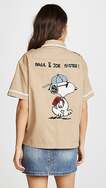 Paul & Joe Sister x Peanuts Snoopy Bro Shirt