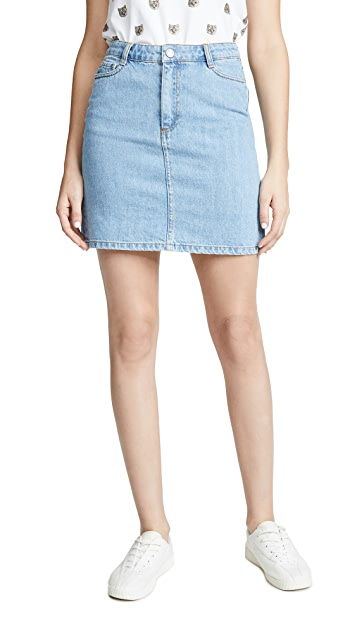 Paul & Joe Sister Girly Denim Skirt