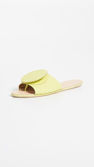 The Palatines Celeste Origami Slides - Lime