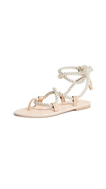 The Palatines Helica Wrap Sandals