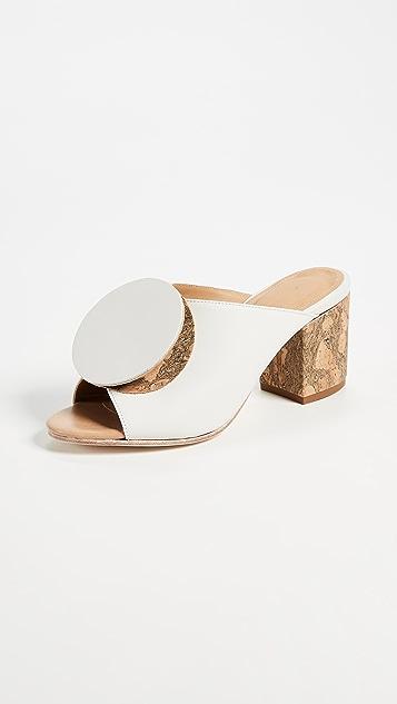 The Palatines Salio Origami Mules