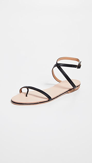 The Palatines Calide X Strap Sandals