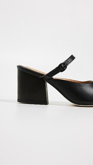 The Palatines Seta Buckle Slides