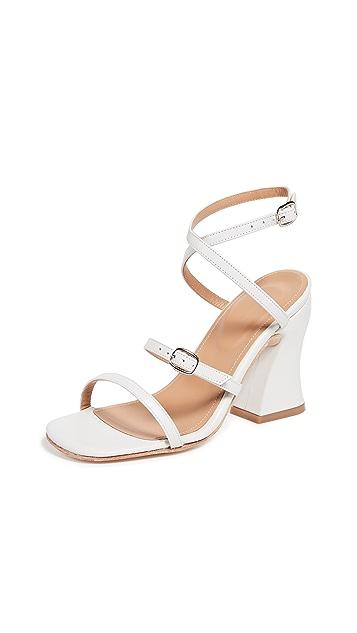 The Palatines Dalia Curved Heel Sandals