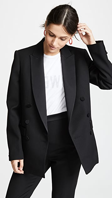 Pallas Cerbere Double Breasted Tuxedo Jacket