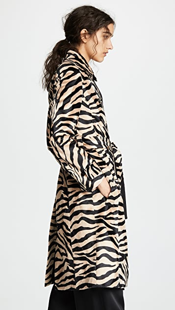 Pallas Пальто-тренч Dazibao Zebra