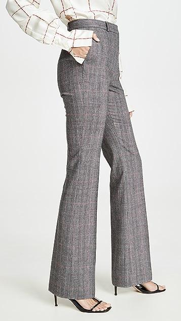 Pallas 格子直脚裤