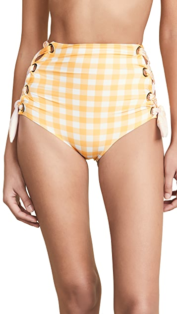 Palmacea Pale Sunflower Bikini Bottoms