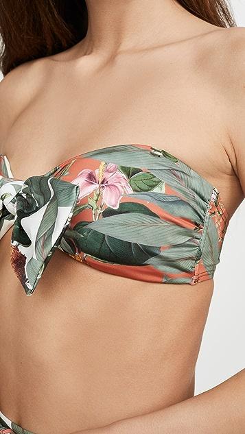 Palmacea Pina 抹胸式比基尼上衣
