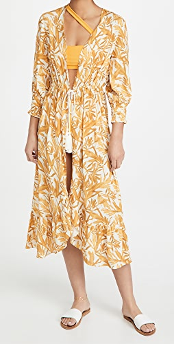 Palmacea - Baggy Sleeves Cover Up