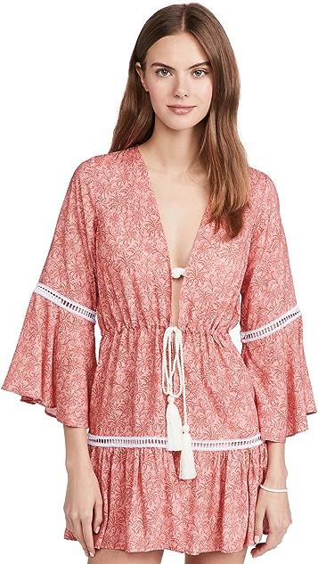 Palmacea Printed Kimono