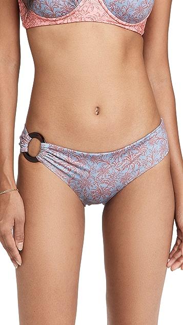 Palmacea Azulejo Bikini Bottoms