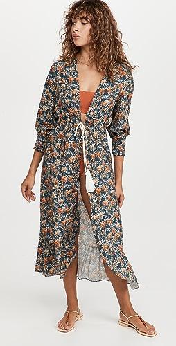 Palmacea - Baggy Sleeves Robe